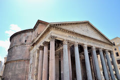 Pantheon. Ancient Pantheon in Rome, Italy Stock Images