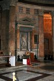 Pantheon. Rome-the pantheon (interior picture Royalty Free Stock Image