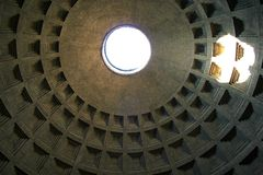 Pantheon. Rome-the pantheon (interior picture Stock Photography