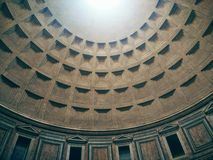 pantheon royaltyfria bilder