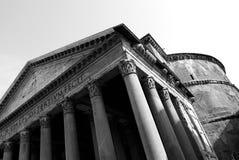 Pantheon. The massive Pantheon in Piazza della Rotonda stock images