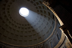 Pantheon of Agripa in Rome Stock Images