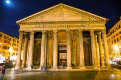 Pantheon bij Piazza della Rotonda Royalty-vrije Stock Afbeeldingen