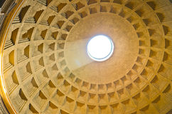 Pantheon ceiling Royalty Free Stock Photos