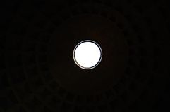 Pantheon ceiling illustration Royalty Free Stock Images