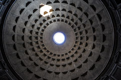 Pantheon ceiling Royalty Free Stock Image