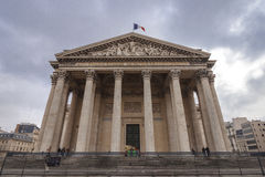 The Pantheon in the city of Paris, France. Stock Photos