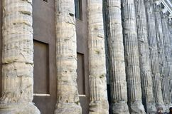 Pantheon columns Stock Image