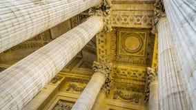 Pantheon Columns Royalty Free Stock Image