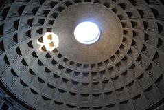 Pantheon cupola Stock Photography