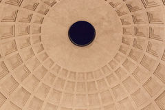 Pantheon Cupola - Roma Stock Images