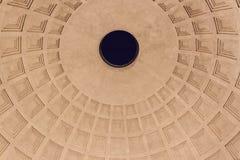 Pantheon Cupola - Roma Stock Images