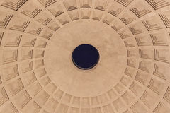 Pantheon Cupola - Roma Royalty Free Stock Photo