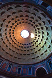 Pantheon, the dome Stock Image