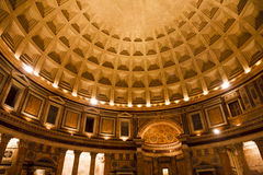 Pantheon dome Royalty Free Stock Images