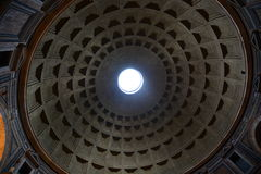 The Pantheon dome. Roma, Italy Royalty Free Stock Photography