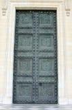 Pantheon Door Stock Image