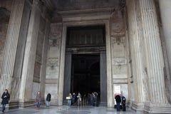 Pantheon entrance royalty free stock image