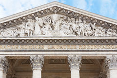 Pantheon facade in Paris, France Royalty Free Stock Photos