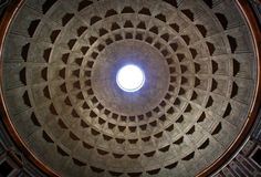 In the Pantheon Royalty Free Stock Photos