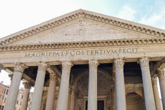 The Pantheon Stock Images
