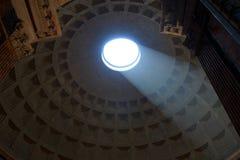 Pantheon-Haube Italien Stockfotografie