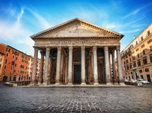 Free Pantheon In Rome Royalty Free Stock Photo - 141378165