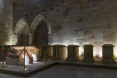 Pantheon of Infantes. Monastery of Santa Maria la Real de Najera Royalty Free Stock Images
