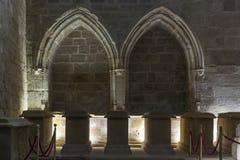 Pantheon of Infantes. Monastery of Santa Maria la Real de Najera Royalty Free Stock Photography