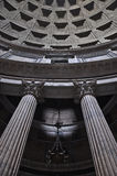 Pantheon inside, Rome, Italy Royalty Free Stock Image