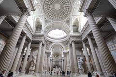 Pantheon interior, Paris Stock Photography