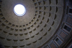 Pantheon and its ceiling royalty free stock images