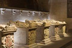 Pantheon of the Kings of Navarre. Monastery of Santa Maria la Re Stock Images