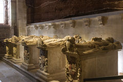 Pantheon of the Kings of Navarre. Monastery of Santa Maria la Re Royalty Free Stock Image