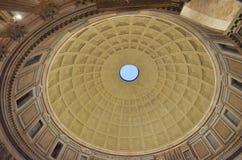 Pantheon, koepel, oriëntatiepunt, symmetrie, de bouw Stock Afbeeldingen