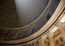 Pantheon Lichte Ray Royalty-vrije Stock Afbeelding