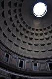 Pantheon nach innen, Rom, Italien stockfotografie