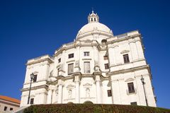 Pantheon of the national Lisbon Portugal Catholicism of the Baroque, founded in 1682, 17th century. The attraction of the Portuguese capital Lisbon national royalty free stock photo