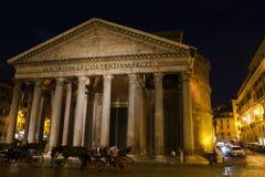 Pantheon at night Stock Images