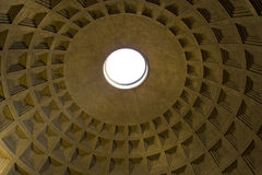 Pantheon Oculus Royalty Free Stock Images