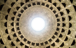 Pantheon oculus lizenzfreie stockfotografie
