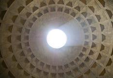 Pantheon oculus Lizenzfreies Stockbild