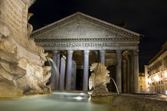 Pantheon - one of the great landmarks at Rome royalty free stock photography