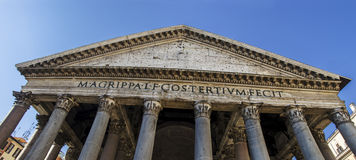 Pantheon Panoramic view stock photos