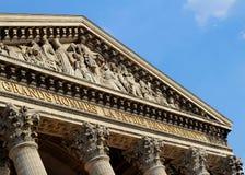 Pantheon, Parijs Royalty-vrije Stock Foto's