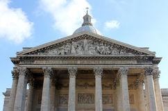 pantheon paris Royaltyfria Bilder