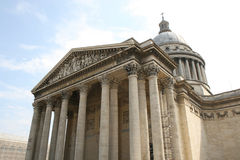 Pantheon Paris. Pantheon in centre of Paris royalty free stock photos