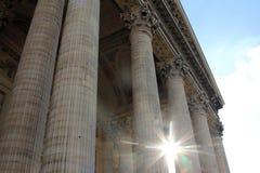 pantheon paris Arkivfoton