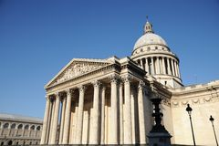 Pantheon in paris Royalty Free Stock Photo