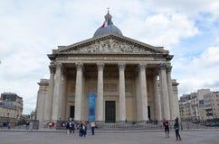 pantheon paris Arkivbild